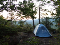 Camping at Porcupine Mountains, Photo by John Benac
