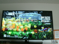 "40"" HD Flat ScreenTV's in all rooms"