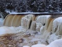 Winter Falls - L. Erickson