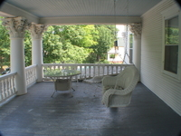 2nd Floor Balcony