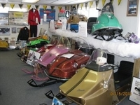 A sneak peek at some of the great snowmobiles at the Museum