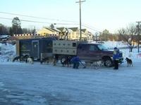 UP200 Dog Sled Racers