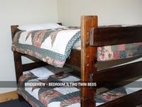 Bridgeview - Bedroom 3, Two Twin Beds